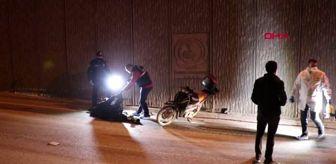 DENİZLİ Duvara çarpan motosikletin sürücüsü öldü