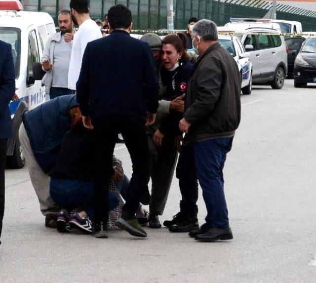 Kaza yerine göreve giden kadın polis, yakınlarının ölüm haberini alınca yıkıldı