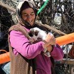Koronavirüs nedeniyle yiyecek sıkıntısı çeken hayvanların gönüllü bakıcısı oldu