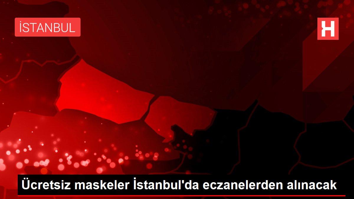 Ücretsiz maskeler İstanbul'da eczanelerden alınacak