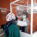 Van Yüzüncü Yıl Üniversitesi Hastanesinde numune alma ve entübasyon kabini üretiliyor