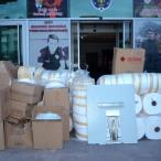 Yozgat'ta kaçak üretilen 12 bin maske ele geçirildi