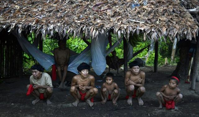 Kornavirüs, Amazon ormanlarında dış dünyaya kapalı yaşayan kabileye de bulaştı