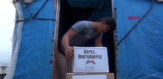 MERSİN Tarım işçilerine gıda kolisi ve sağlık paketi yardımı