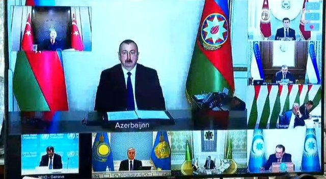Son Dakika: Cumhurbaşkanı Erdoğan, video konferansla Türk Konseyi'ne seslendi: Salgın sonrası için hazırlık yapın