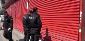 İsmetpaşa Mahallesi: Yasağa rağmen dükkan açan market sahibi, yakayı ele verince müşterilerini suçladı