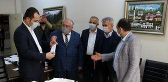 Halk Eğitimi Merkezi: Akçaabat'ta maske üretimine başlandı