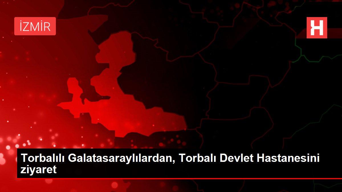 Torbalılı Galatasaraylılardan, Torbalı Devlet Hastanesini ziyaret