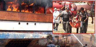 Can Taş: Gezi teknesinde alevlerin arasında kalan 3 işçi güçlükle kurtarıldı