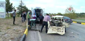 Aliköy: Isparta'da ambulans ile otomobil çarpıştı: 2 yaralı