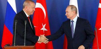 Cumhurbaşkanı Erdoğan, koronavirüs salgını sebebiyle Putin ile görüştü