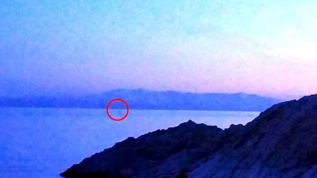 Kaydedilen görüntü, 'Van Gölü Canavarı' dedikodularını yeniden alevlendirdi