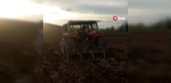 Ekinözü: Yaşlı çiftçinin tarlasını jandarma sürdü