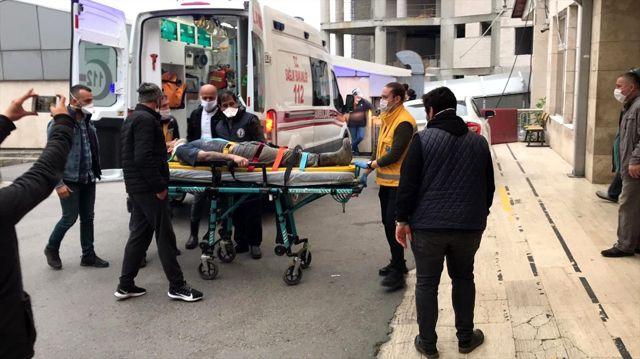 Zonguldak'ta özel maden ocağındaki göçükte 2 işçi yaralandı