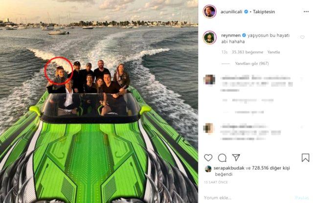 Acun Ilıcalı, Instagram hesabından kendisinden 30 yaş küçük sevgilisiyle ilk kez fotoğraf paylaştı