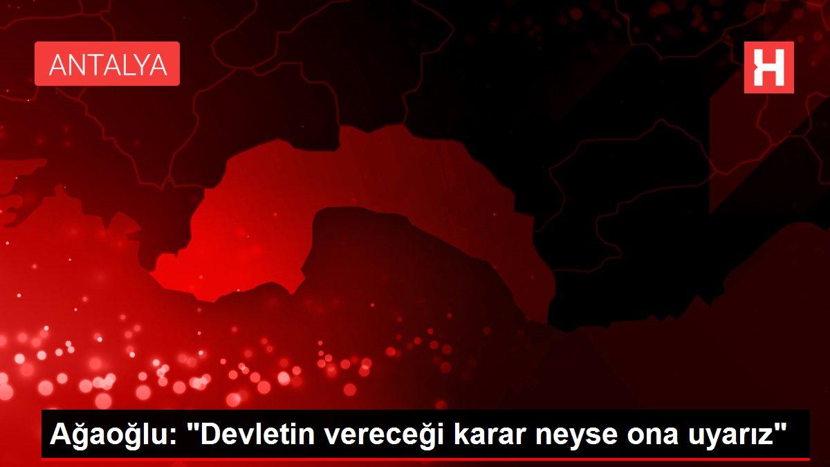 Ağaoğlu: