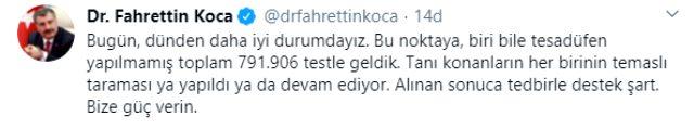 Son Dakika: Türkiye'de 23 Nisan'da koronavirüsten ölenlerin sayısı 115 artarak 2 bin 491'e yükseldi