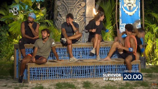 Survivor'ın 55. yeni bölüm fragmanı yayınlandı! Evrim ve Yasin , gece yemek yiyen arkadaşlarına tepki gösterdi