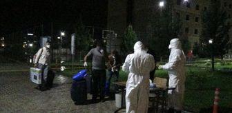 Irak'dan gelen 135 Türk vatandaşı Diyarbakır'da karantinaya alındı