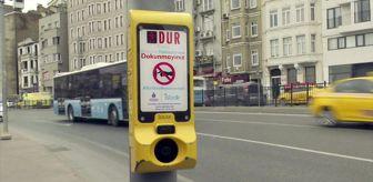 İsbak: İstanbul'da Kovid-19'a karşı temassız yaya butonu