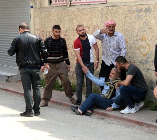 Polis uygulamasından kaçan Suriyeli genç, bacağından vurularak yakalandı