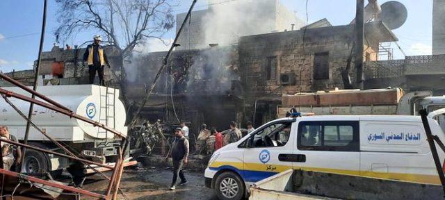 Afrin'de bomba yüklü yakıt tankeriyle terör saldırısı: Ölen sivil sayısı 23'e yükseldi