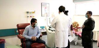 Fırat Üniversitesi: Elazığ'da koronavirüsü yenen aile 'immün plazma' bağışçısı oldu