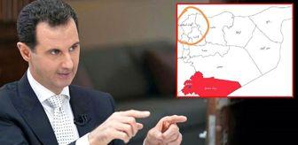 Esed, koronavirüs haritasında İskenderun'u da Suriye'ye dahil etti