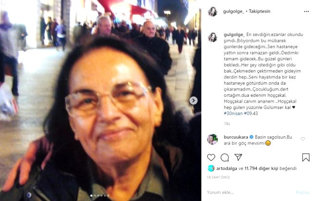 Ünlü sunucu Gül Gölge'nin anneannesi hayatını kaybetti