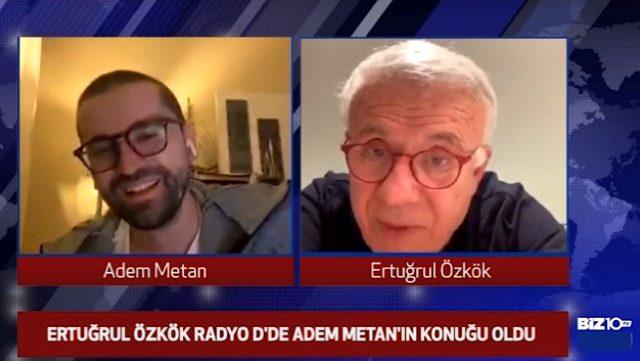 Ertuğrul Özkök'ten ilginç itiraf: Yatak odasından canlı yayın yapan Gonca Vuslateri'yi dikizledim