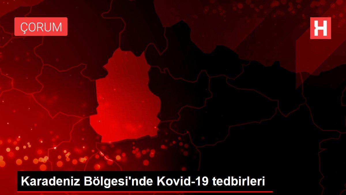 Karadeniz Bölgesi'nde Kovid-19 tedbirleri