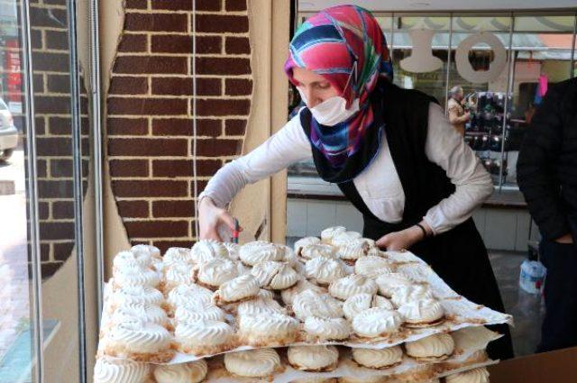 Samsun'da 50 kuruşa satılan atom tatlısına yurt dışından bile talep var