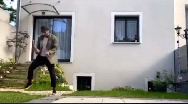 Rakkas şarkısıyla dans eden oyuncu Fırat Çelik ve yeğeni sosyal medyayı salladı