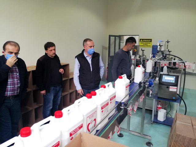 Bor katkılı yerli ve milli dezenfektan Borel'in ham maddesi Amasya'dan alınıyor