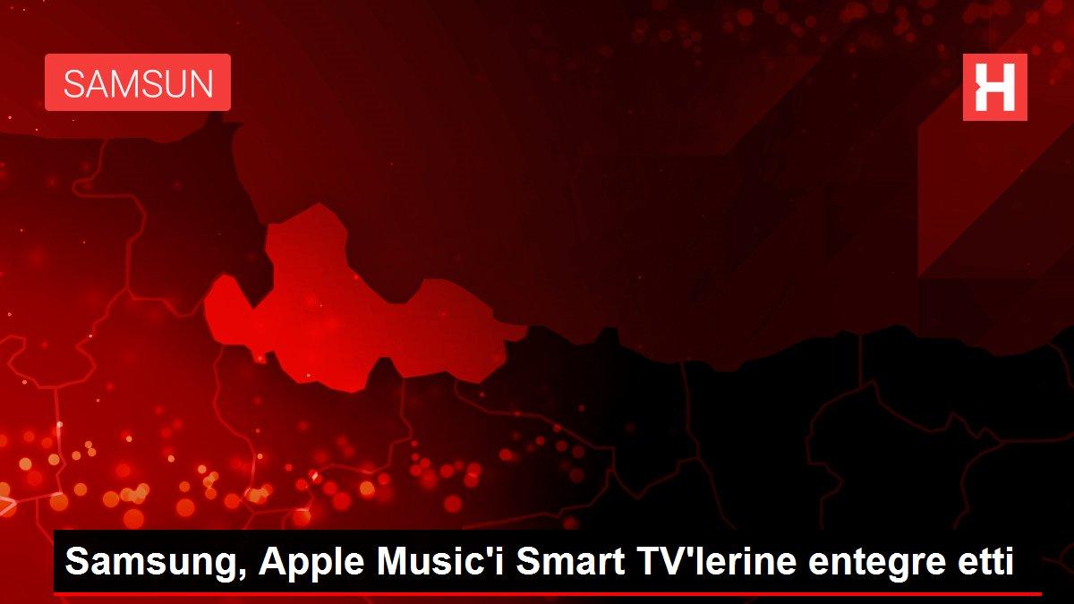 Samsung, Apple Music'i Smart TV'lerine entegre etti