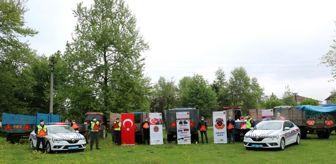 Trafik Şube Müdürlüğü: Güvenli traktör kullanımı ve sağlıklı tarım projesi Düzce'de hayata geçirildi