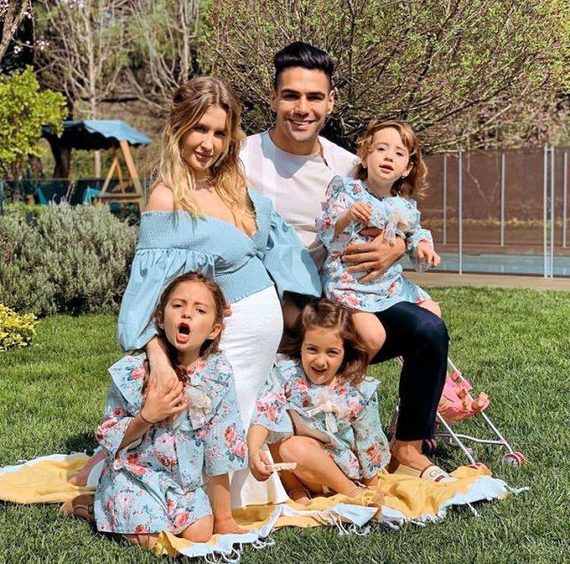 Türkiye'de mutlu olduğunu söyleyen Falcao'dan, çocuklarıyla evde oturan kadınlara övgü: Şapka çıkarıyorum
