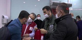 AK Parti, Nevşehir'de Kızılay'ın kan bağış kampanyasına destek verdi