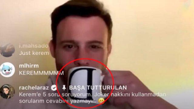 Kerem Bürsin, Demet Özdemir ile aşk iddialarına esprili bir dille yanıt verdi