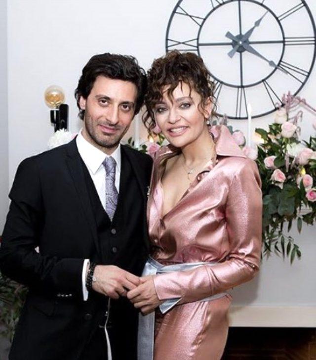 Oyuncu Didem Balçın, avukat Can Aydın ile dünyaevine girdi
