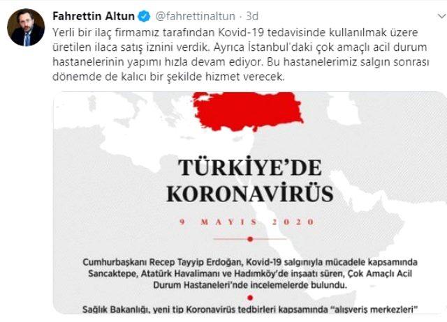 Fahrettin Altun duyurdu: Yerli ilaç onaylandı, satışı başlıyor