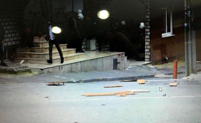 İbrahim Gökçek'in cenazesinde provokasyon polis kamerasında