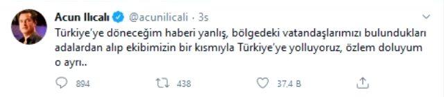 Acun Ilıcalı, 'Türkiye'ye dönüyor, karantinada kalacak' iddialarıyla ilgili açıklama yaptı