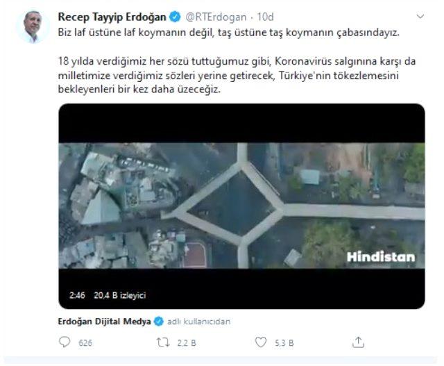 Cumhurbaşkanı Erdoğan: Türkiye'nin tökezlemesini bekleyenleri bir kez daha üzeceğiz