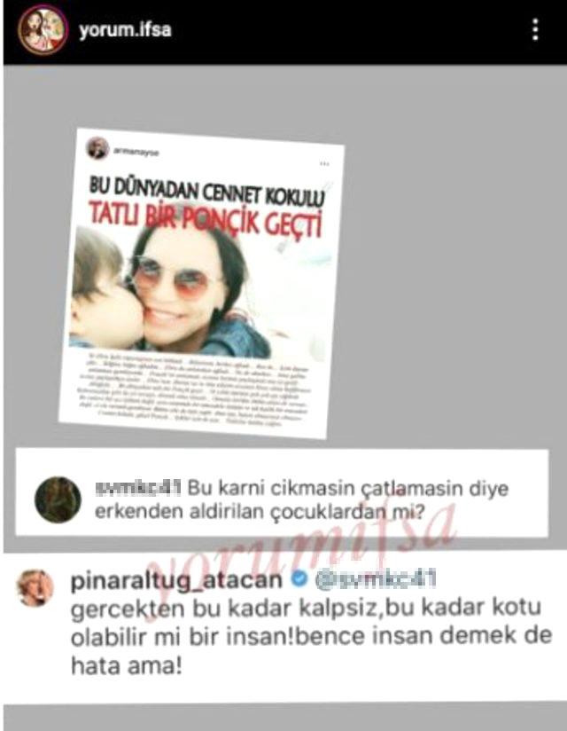 Pınar Altuğ, çocuğunu kaybeden Ebru Şallı'ya yapılan yoruma sert çıktı: İnsan demek hata