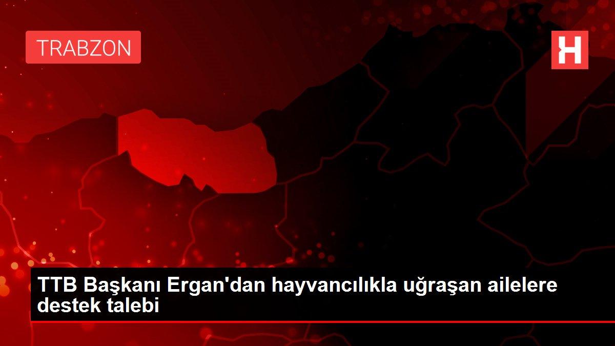 TTB Başkanı Ergan'dan hayvancılıkla uğraşan ailelere destek talebi