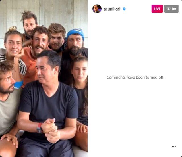 Acun Ilıcalı, Instagram'da Türkiye canlı yayın rekoru kırdı