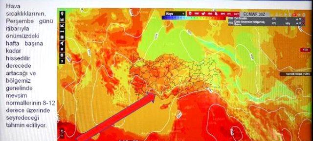 Pazar günü 'rekor sıcaklık' bekleniyor