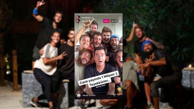 Acun Ilıcalı, Instagram Türkiye Canlı Yayın Rekorunu Kırdı
