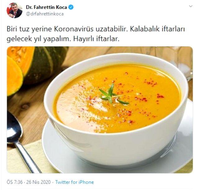 Bakan Koca'nın iftar uyarısı Uşak'ta gerçek oldu: İftarda buluşan 5 kişinin koronavirüs testi pozitif çıktı